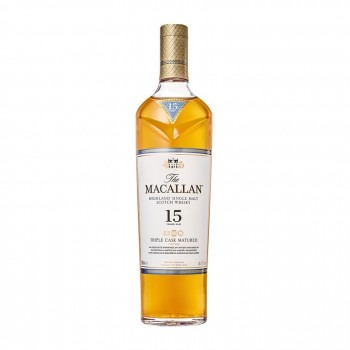 015156 the macallan 15yo triple cask 70cl